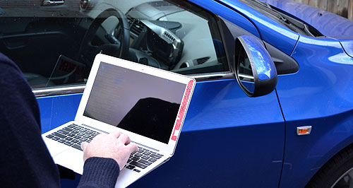 car hacking picture